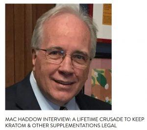 Mac Haddow, American Kratom Association